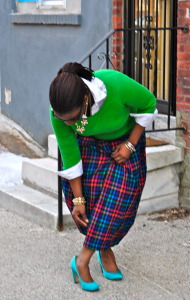11. Plaid Pleats