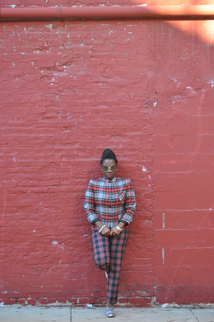 She Slays: Plaid on Plaid