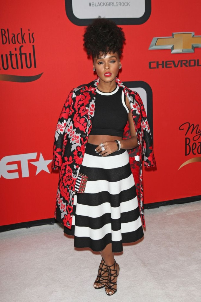 Janelle Monae, Black Girls Rock, She Slays, 2015